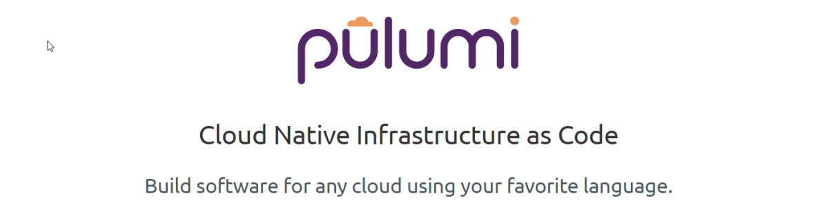 Infrastructure as Code: exploring Pulumi