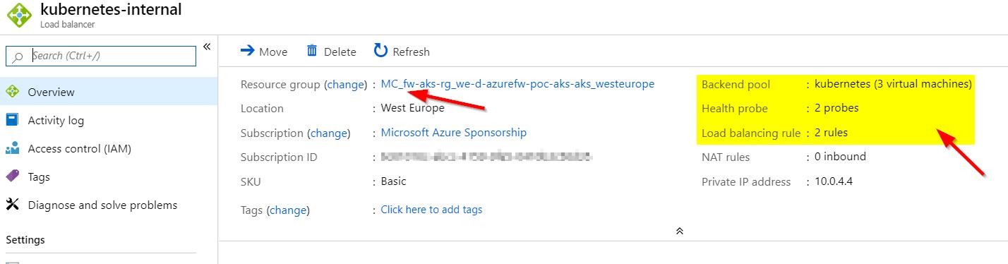 Azure Kubernetes Service and Azure Firewall – baeke info